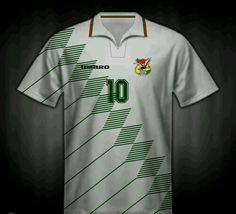 Bolivia away shirt for the 1994 World Cup Finals.