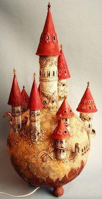 Замок-светильник от Barbaradreams _