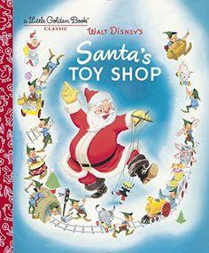Santa's Toy Shop (Disney) (Little Golden Book): Al Dempster, RH Disney: 9780736434010: Amazon.com: Books