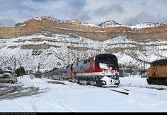 RailPictures.Net Photo: AMTK 42 Amtrak GE P42DC at Helper, Utah by Dick Ebright