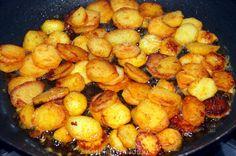 Gebakken aardappels - het geheim! Potato Dishes, Potato Recipes, Chicken Recipes, Good Healthy Recipes, Vegan Recipes, Cooking Recipes, Good Food, Yummy Food, Dutch Recipes