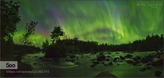 TULABI FALLS AURORA PANORAMA II - Pinned by Mak Khalaf (Feel free to share this post) Wow I basically forgot about this image. I was looking another image taken on here for a client when I saw this one. I had planned to post it back in June but for whatever reason got sidetracked. Though we just had some great aurora the past few days this show is still the best I've witnessed. Enjoy! --------------------------- http://ift.tt/1fyZIIT http://ift.tt/1MzYr2l…