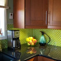 green apple subway tiles  inspired by a model kitchen i saw at ikea  i love this look    my new kitchen   pinterest   subway tiles kitchens and green     green apple subway tiles  inspired by a model kitchen i saw at      rh   pinterest com