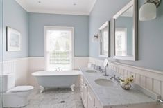Bathroom: tongue and groove