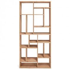 Ethnicraft Oak Bookcase
