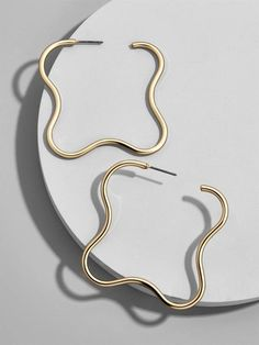 BaubleBar Natasha Hoop Earrings