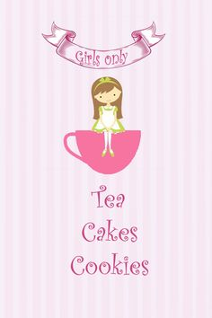 Girls Only Tea Party