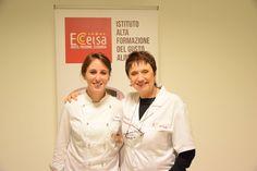 Il mondo della Pasticceria con la pastry chef Rita Busalacchi incontra il Mondo della Gelateria con la maestra Donata Panciera.  #IstitutoEccelsa, centro di incontro della cultura, dell'informazione e della formazione del gusto!
