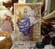 Journey to Lyonesse mini Print/Faerie by Freerangefaeries on Etsy
