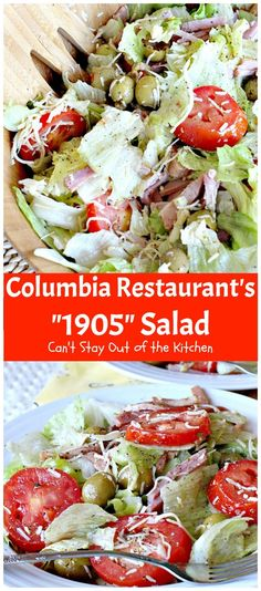 "Columbia Restaurant's ""1905"" Salad 