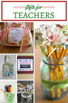DIY Gifts for Teachers: Winter break is almost here. Children and teachers alike are looking forward to a few weeks away from school, giving them time to rest and catch up with family. Before your kids go on winter break, be sure to thank the teachers in your life with these great DIY Gift for Teachers ideas.