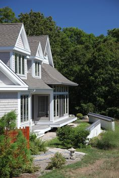 Superb Exterior Of Cape Cod Home Designed With Asian Influence. Architectural  Design ...