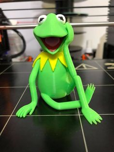 Multimaterial Kermit by Michael Rudinsky