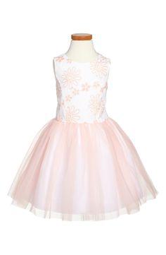 Pippa & Julie Floral Embroidered Sleeveless Dress (Toddler Girls, Little Girls & Big Girls)   Nordstrom