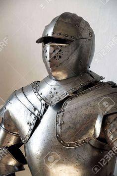 Close-up Van Een Middeleeuwse Ridder Royalty-Vrije Foto, Plaatjes, Beelden En…