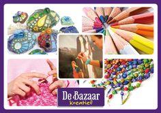Op Bazaar Kreatief kunnen geïnteresseerde in origineel handwerk, handarbeid, workshops, demonstraties en/of kunst elkaar treffen.