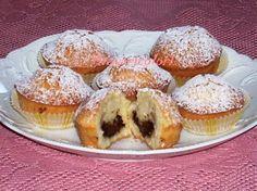 Muffins al cocco fresco e nutella