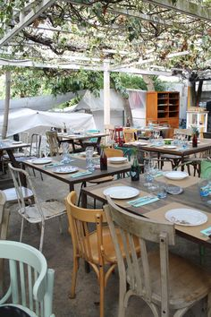 www.ingebruins.com - our ibiza holiday - hippiemarket Ibiza Holidays, Outdoor Furniture, Outdoor Decor, Table, Home Decor, Decoration Home, Room Decor, Tables, Home Interior Design