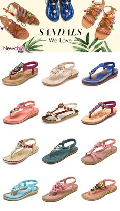【UP TO 51% OFF】Comfy Flat Beach Sandals We Love