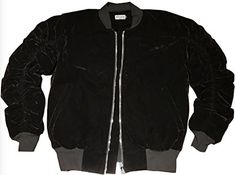 """Reves Paris Onyx Black Velour 2.0 Bomber Jacket In Black XL       Famous Words of Inspiration...""""The spirit of resistance to government is so valuable on certain occasions that I wish it to be always kept alive. It will often be exercised when wrong, but better so than not...  More details at https://jackets-lovers.bestselleroutlets.com/mens-jackets-coats/lightweight-jackets/varsity-jackets/product-review-for-reves-paris-onyx-black-velour-2-0-bomber-jac"""