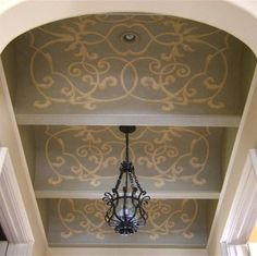Beautiful painted ceiling