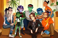 Critical Role Fan Art Gallery: Strange Bedfellows   Geek and Sundry