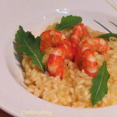 Cooking: Receita do Cantinho: Risotto de espumante com açafrão e camarão | Sparkling wine risotto with saffron and prawn, Cantinho's recipe