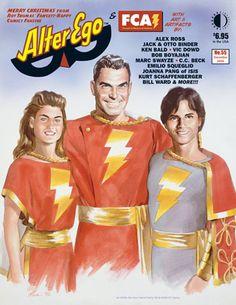 Alter Ego 55 - Click Image to Close Captain Marvel Jr, Original Captain Marvel, Magazine Deals, Life Magazine, Comic Art, Comic Books, Jack B, Alex Ross, Classic Cartoons