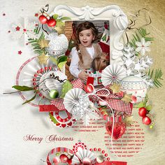 Dreaming of a white Christmas kit & Wordart pack by et designs Christmas Scrapbook Layouts, Digital Scrapbooking Layouts, My Scrapbook, Craft Books, Book Crafts, White Christmas, Divas, Clever, Gift Wrapping