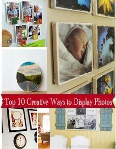 top 10 ways to display photos