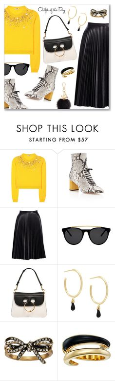 """""""My last set for 2016! See you in 2017! Happy New Year!"""" by dressedbyrose ❤ liked on Polyvore featuring Miu Miu, Rochas, Cusp by Neiman Marcus, Smoke x Mirrors, J.W. Anderson, Isabel Marant, Marc Jacobs, Michael Kors, Furla and Petit Bateau"""