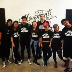 Team Home for dancers