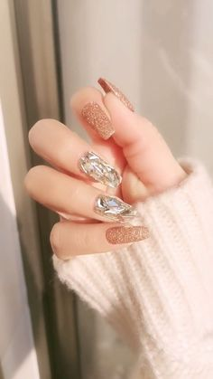 148 the pretty nail art designs that perfect for spring looks 1 Stylish Nails, Trendy Nails, Perfect Nails, Gorgeous Nails, Nail Art Designs Videos, Baby Boomer, Best Acrylic Nails, Pretty Nail Art, Nail Swag