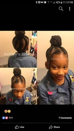 Little girls hair Cute Little Girl Hairstyles, Little Girl Braids, Baby Girl Hairstyles, Natural Hairstyles For Kids, Black Girl Braids, Kids Braided Hairstyles, Princess Hairstyles, Braids For Kids, Girls Braids