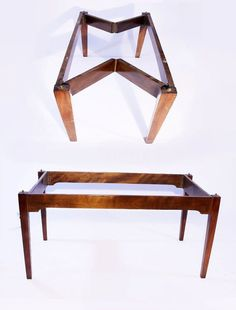 William IV officer's field desk Diy Furniture Building, Transforming Furniture, Folding Furniture, Table Furniture, Tree House Designs, Tiny House Design, Nomadic Furniture, Campaign Furniture, Diy Camping