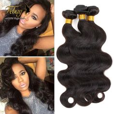 Brazilian Body Wave Yestar Hair Products Brazilian V .- Brazilian Body Wave Yestar Hair Products Brazilian Virgin Hair Body Wave Cheap Human Hair Weave Brazilian Hair Bundles on Brazilian Hair Bundles, Brazilian Hair Weave, Brazilian Body Wave, Body Wave Weave, Body Wave Hair, Wave 3, Goddess Hairstyles, Weave Hairstyles, Brazilian Hair Treatment