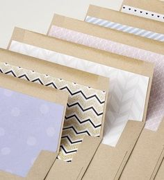 Custom envelope line