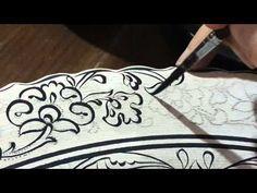 Fashion and Lifestyle Clay Texture, Texture Paste, Ceramic Techniques, Pottery Techniques, Biscuit, Fan Brush, Iranian Art, Tile Art, Filet Crochet