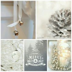 Holly, jolly! #moodboard #mosaic #collage #byJeetje♡