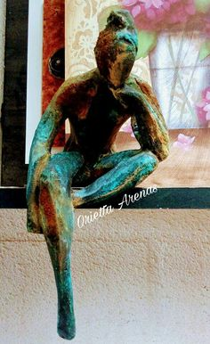 Sculpture Clay, Abstract Sculpture, Sculptures, Ceramic Figures, Ceramic Art, Hot Glue Art, Indian Artist, Classical Art, Art Techniques