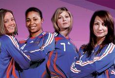 Et oui... Le foot féminin c'est d'abord des filles !