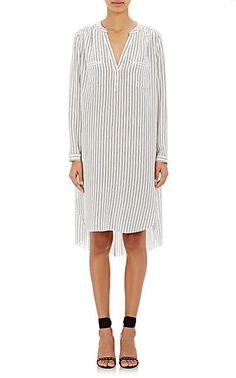 Ulla Johnson Jihane Silk Shirtdress - Mid - Barneys.com