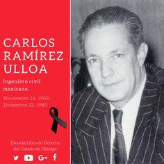 #UnDíaComoHoy pero de 1980, murió el ingeniero Carlos Ramírez Ulloa, fundador de la Comisión Federal de Electricidad. #HistoriaDeMéxico #ELDEH #ConoceTuHistoria