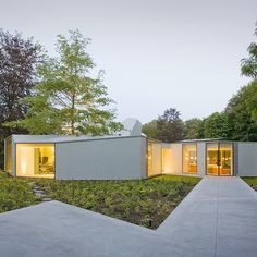 Villa 4.0 by Dick van gameren . . . . . #oblicshape #doubleskin #woodconcrete #teamarchi #pin #architecture #architectureporn #house #architect #archdaily