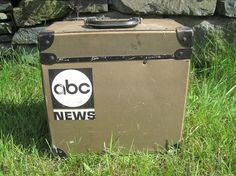 Vintage Storage Box Wright Line and ABC News by SugarLMtnAntqs