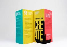 40 awesome exhibition museum brochure design ideas jayce o yesta art gallery brochures Design Brochure, Brochure Cover, Brochure Layout, Flyer Design, Brochure Ideas, Brochure Template, Event Design, Branding Design, Brochure Design Inspiration
