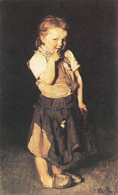 Little Girl by Max Liebermann
