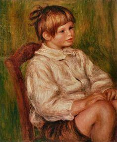 Auguste Renoir - Coco (Claude Renoir) 1910