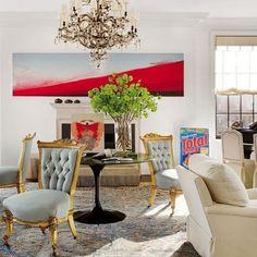 Vicente Wolf Designs a Prewar Manhattan Apartment : Architectural Digest