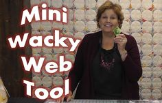 How to Use the Mini Wacky Web Quilting Tool!
